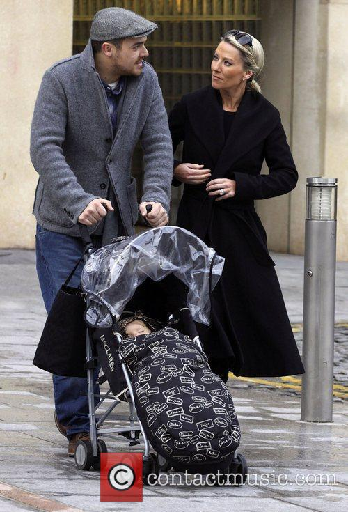 Zoe Lucker, James Herbert and Baby 3
