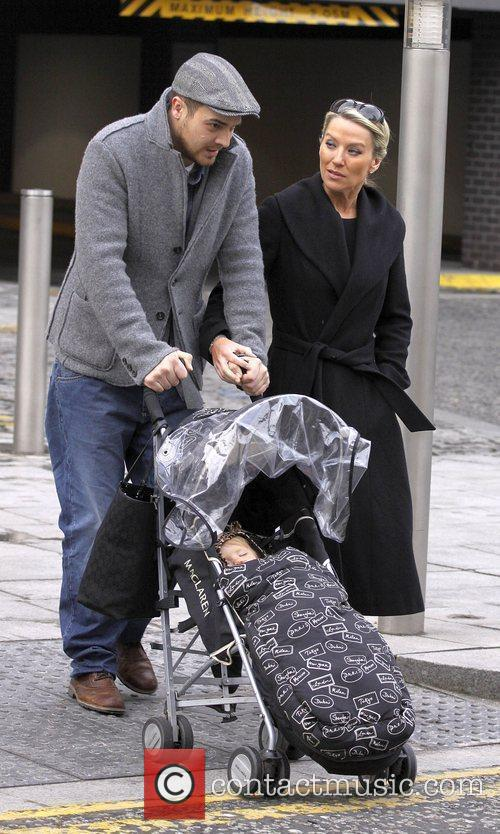 Zoe Lucker, James Herbert and Baby 1