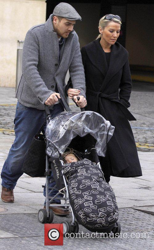 Zoe Lucker, James Herbert and Baby 11