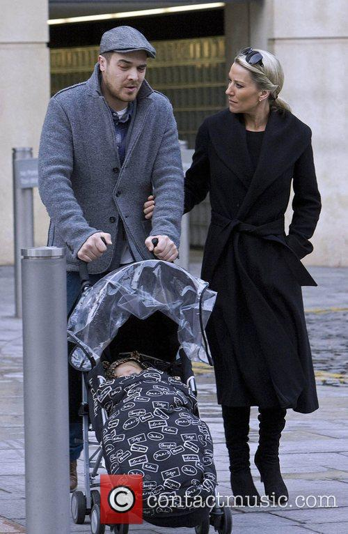 Zoe Lucker, James Herbert and Baby 8