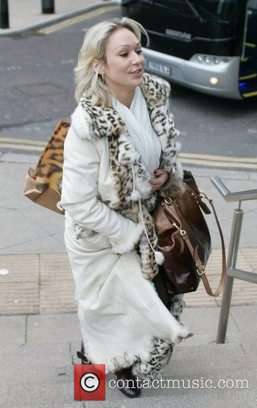 Kristina Rihanoff 'Strictly Come Dancing' stars outside their...
