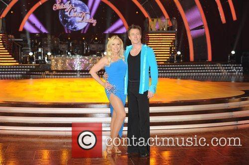 Pamela Stephenson and James Jordan 'Strictly Come Dancing...