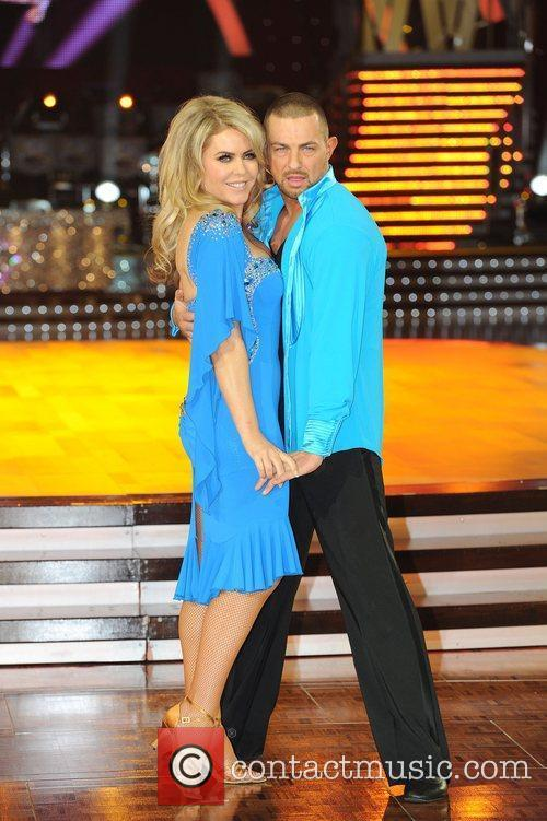 Patsy Kensit and Robin Windsor 'Strictly Come Dancing...