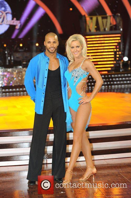 Ricky Whittle and Natalie Lowe 'Strictly Come Dancing...