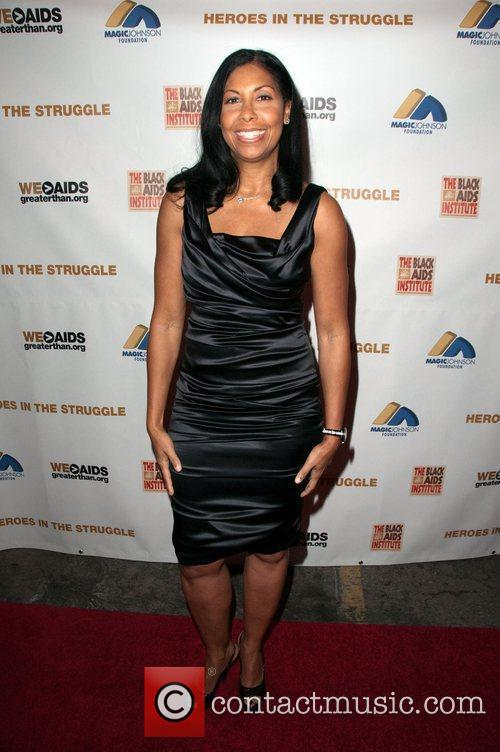 Earvin Magic Johnsons wife Cookie The 10th Annual...