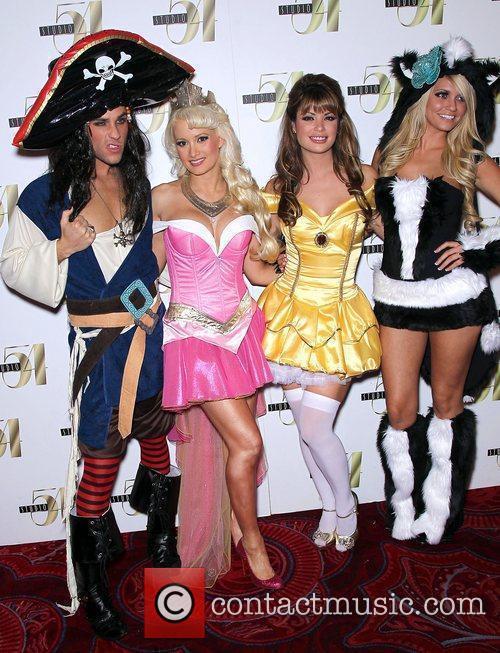 Holly Madison, Josh Strickland, Laura Croft and Angel...