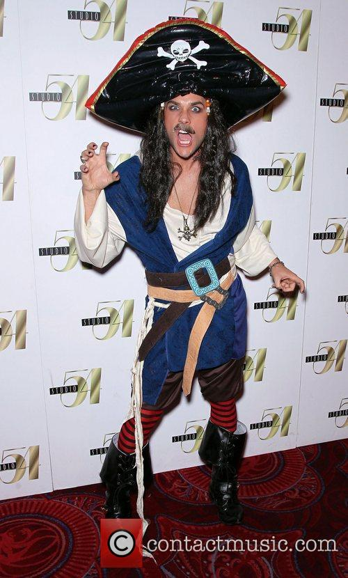 Josh Strickland attends 2nd Annual 'Hollyween' party hosted...