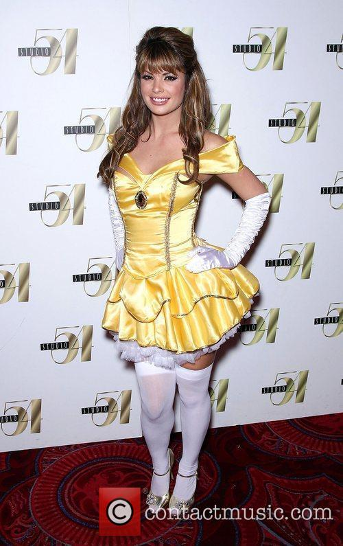 Laura Croft  attends 2nd Annual 'Hollyween' party...