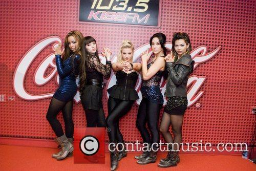 The Stunners perform at 103.5 KISS FM Coca-Cola...