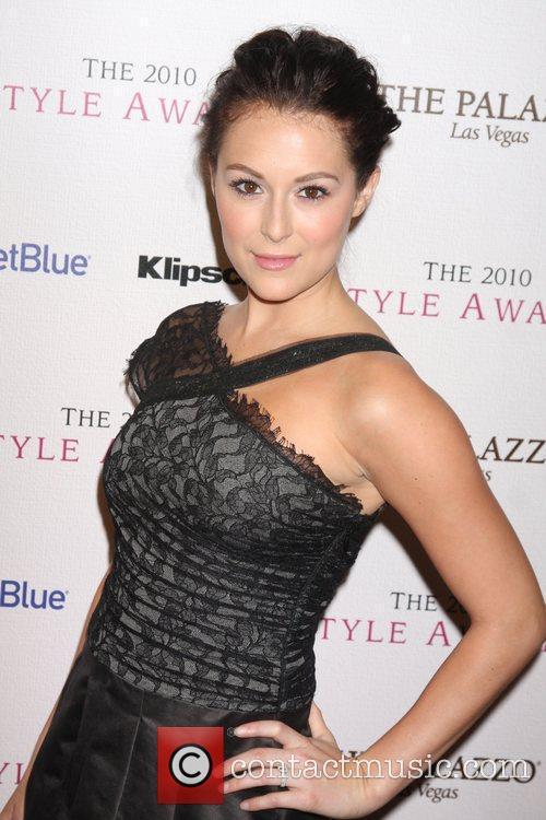 Alexa Vega The 2010 Hollywood Style awards held...