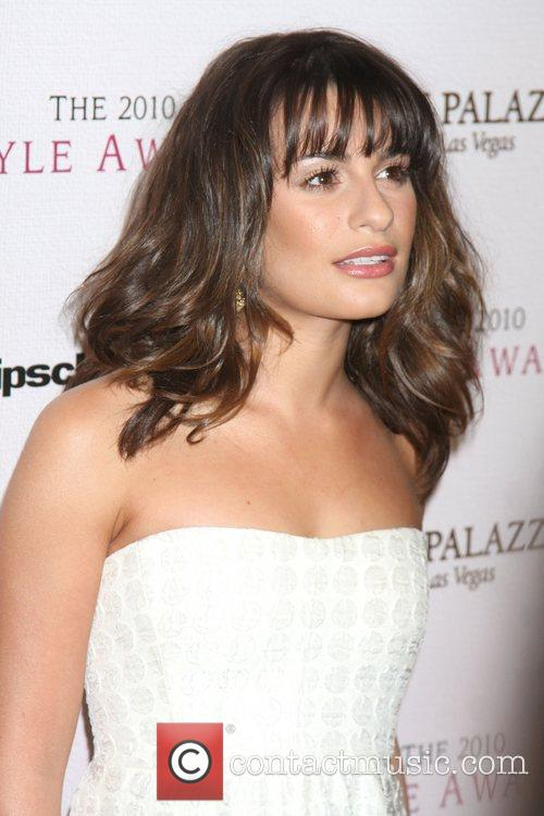 Lea Michele and Billy Wilder 4