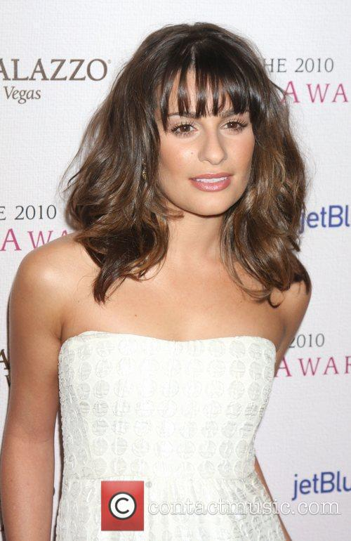 Lea Michele and Billy Wilder 5