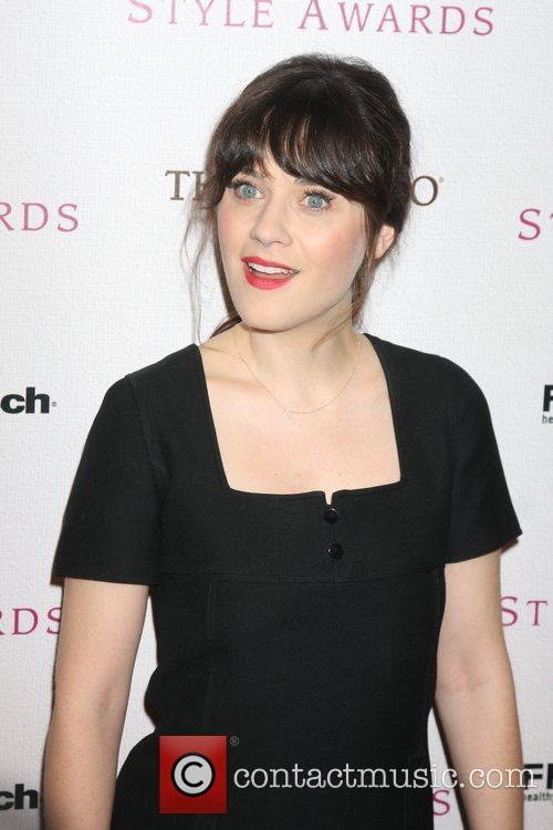 Zooey Deschanel The 2010 Hollywood Style awards held...