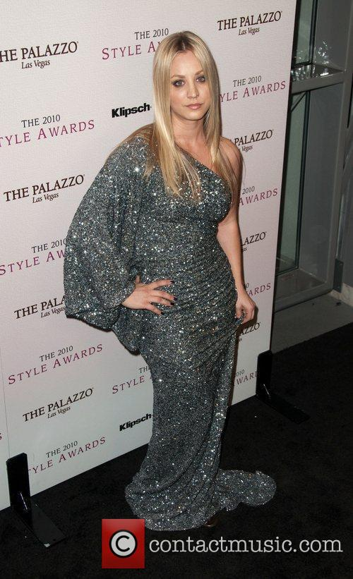 Kaley Cuoco The 2010 Hollywood Style awards held...