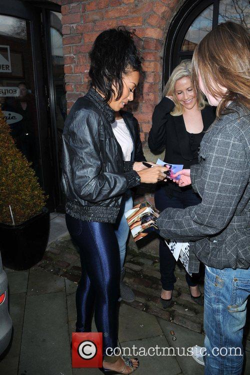 Jade Ewen of the Sugababes The Sugababes return...