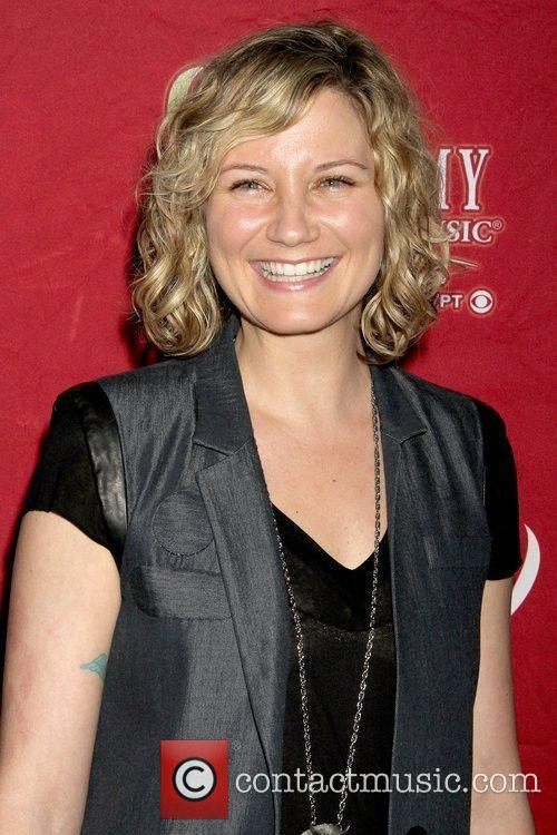 Jennifer Nettles Sugarland press conference with Dr. Pepper...