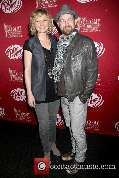 Jennifer Nettles and Kristian Bush Sugarland press conference...