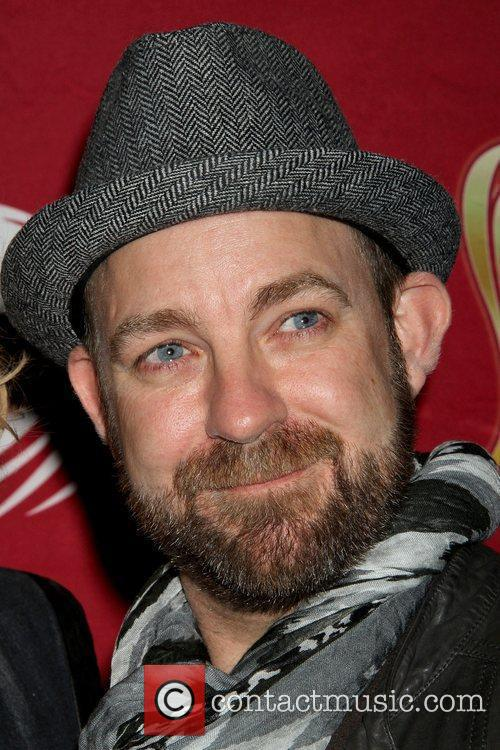 Kristian Bush Sugarland press conference with Dr. Pepper...