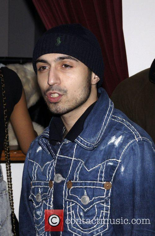 Adam Deacon  attending the wrap party for...