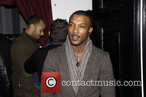 Ashley Walters attending the wrap party for new...
