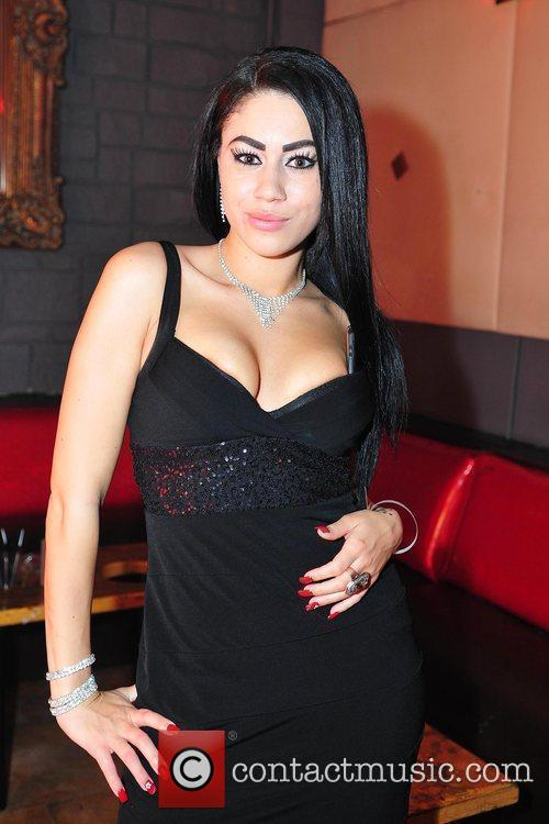 Pornstar Summer Bailey celebrates her birthday at Club...