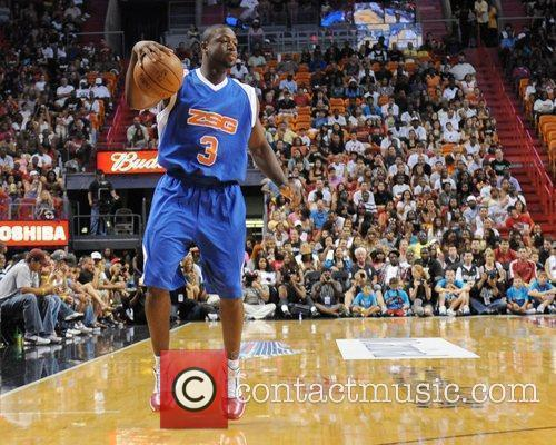 Dwayne Wade appears at the 'Zo's Summer Groove'...