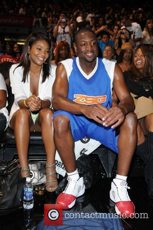 Gabrielle Union and Dwayne Wade appear at the...