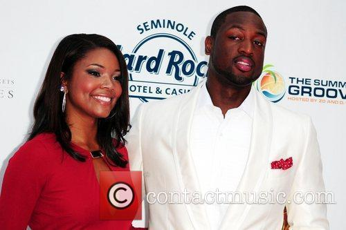 Gabrielle Union and Dwyane Wade Summer Groove Benefit...