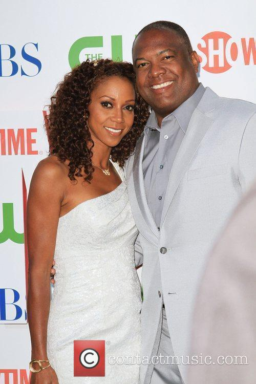 Holly Robinson-peete, Cbs and Rodney Peete 1