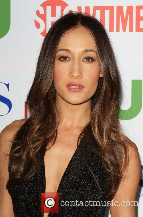 Maggie Q and Cbs 1