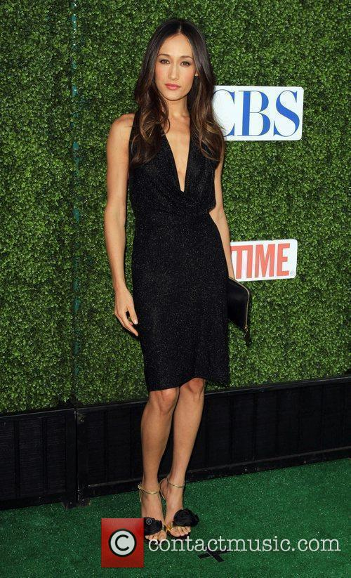 Maggie Q and Cbs 3