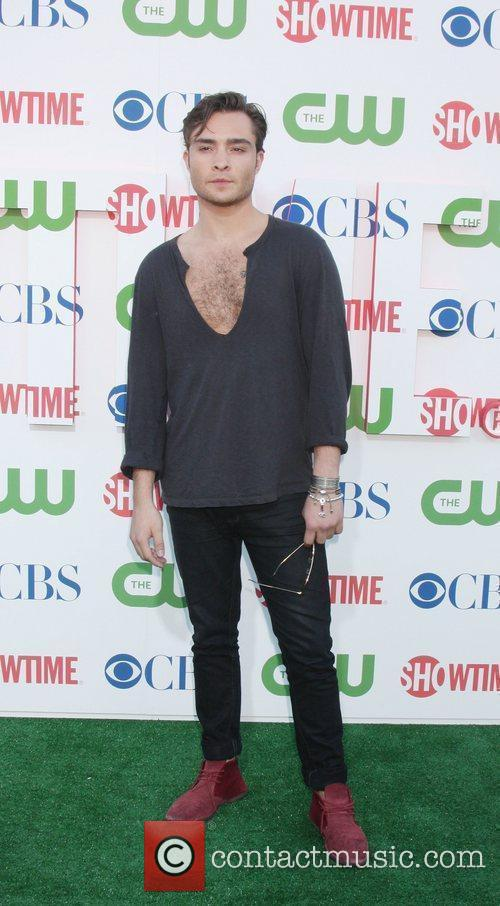 Ed Westwick 2010 CBS, CW, Showtime summer press...