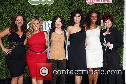 Leah Remini, Cbs, Holly Robinson Peete and Sara Gilbert 6