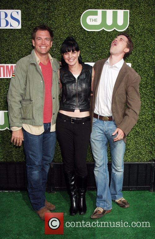 Michael Weatherly, Pauley Perrette, Brian Dietzen 2010 CBS,...