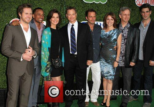 A.j Buckley, Carmine Giovinazzo, Cbs, Gary Sinise, Hill Harper and Sela Ward