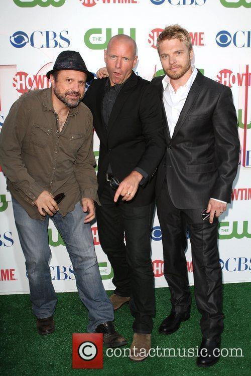 Enrico Colantoni, Hugh Dillon, & David Paetkau 2010...