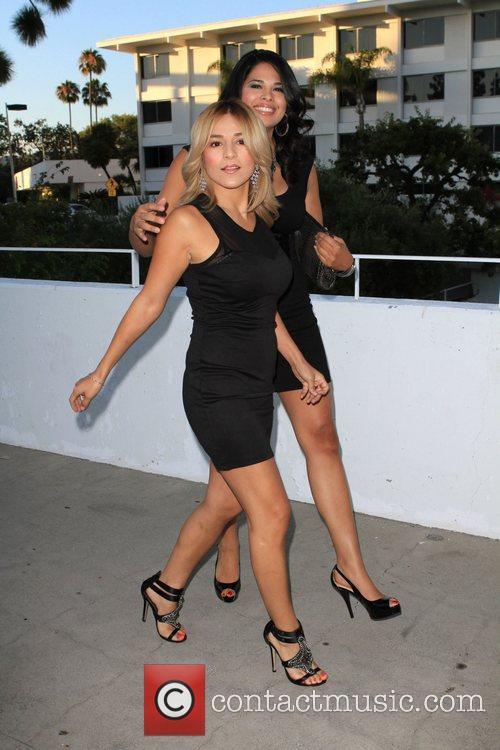 Rose Garcia and Natalie Hornedo 2010 CBS, CW,...