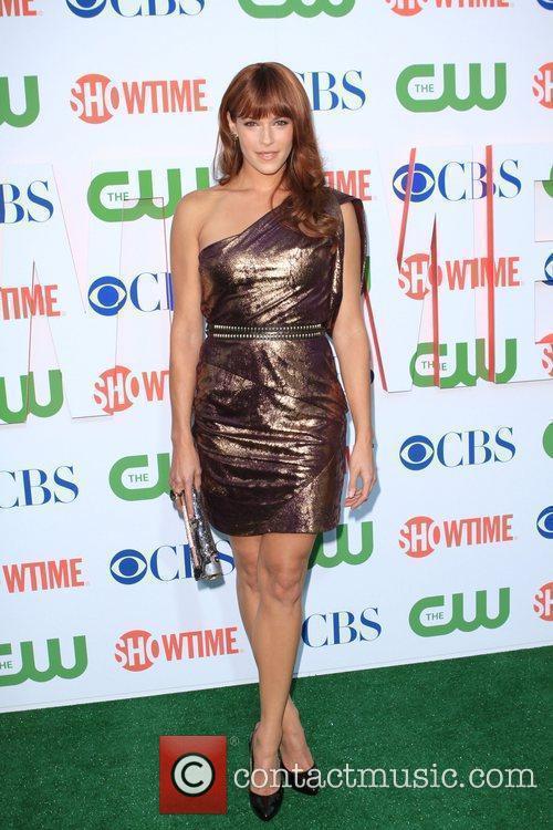 Amanda Righetti 2010 CBS, CW, Showtime summer press...