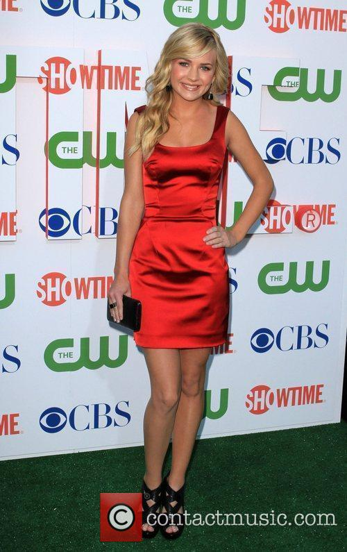 Brittany Robertson 2010 CBS, CW, Showtime summer press...