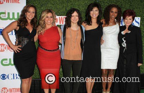 Leah Remini, Cbs, Holly Robinson Peete and Sara Gilbert 8