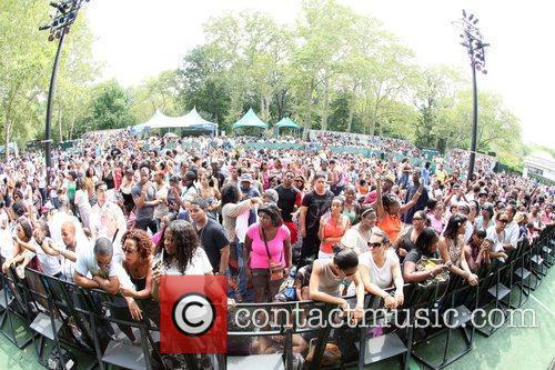 Atmosphere at 2010 Summerstage at Central Park New...