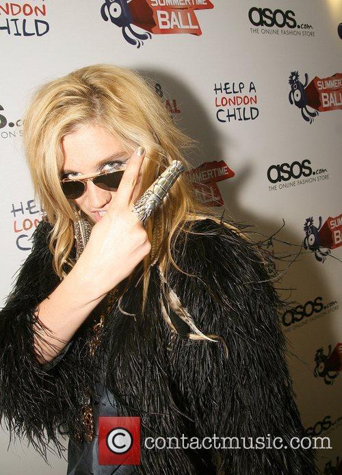 Ke$ha The Summertime Capital FM Ball held at...