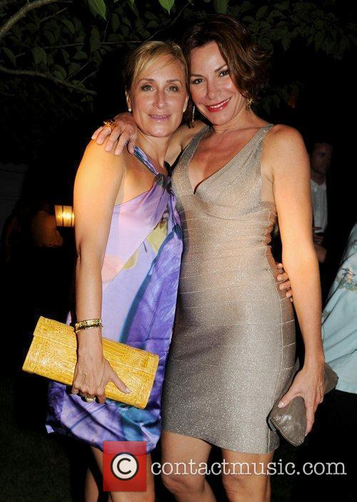 Sonja Morgan and guest ACE's Brazilian Sunflowers Event,...