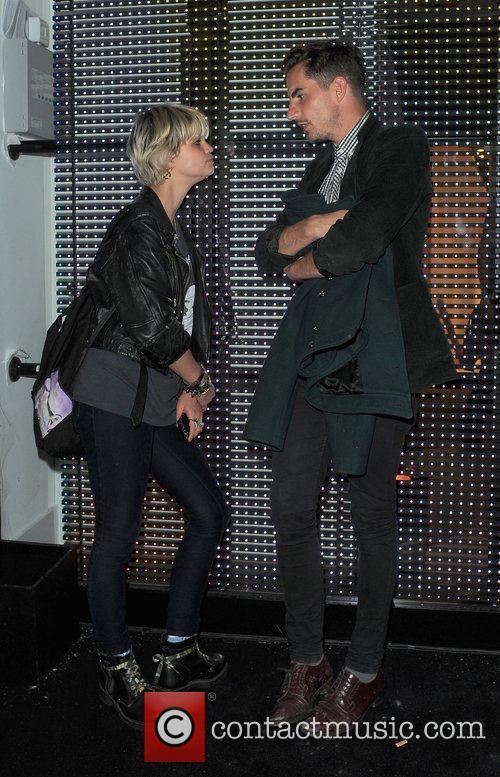 Pixie Geldof and A Male Companion 4