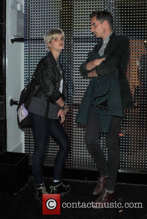 Pixie Geldof and A Male Companion 2