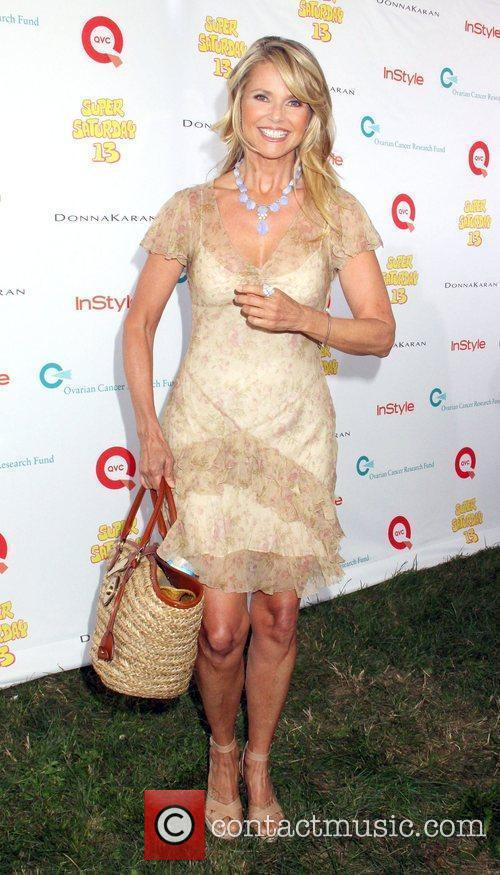 Christie Brinkley attends Super Saturday 13 designer garage...