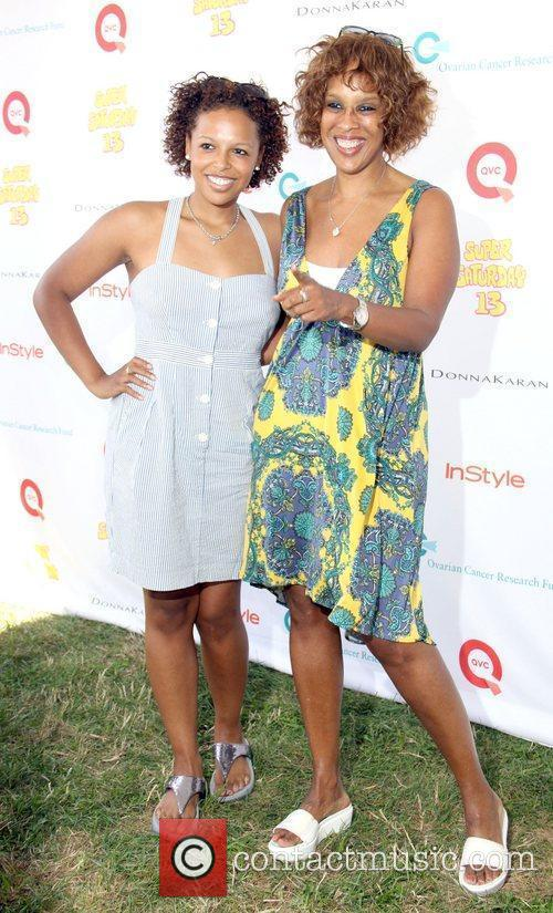 Gayle King and daughter attend Super Saturday 13...