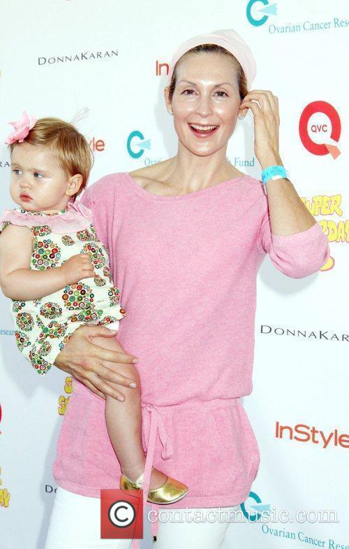 Kelly Rutherford and baby Helena attend Super Saturday...