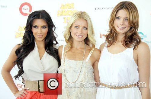 Kim Kardashian and Kelly Ripa 2