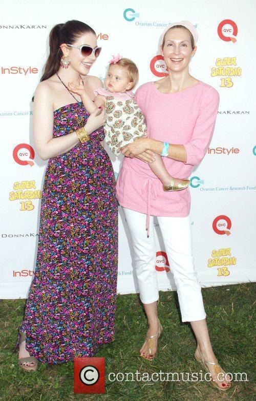 Michelle Trachtenberg, Kelly Rutherford and baby Helena attend...